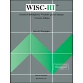 WISC III - Escala de inteligência Wechsler para crianças - Protocolo Procurar Símbolos