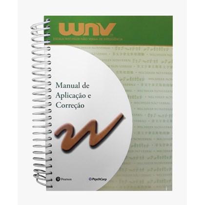 WNV - Manual de Aplicação e Correção (Escala Wechsler Não Verbal de Inteligência)