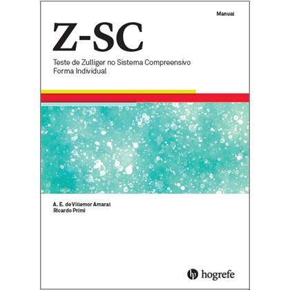 Z- SC (COLECAO COMPLETA COM PRANCHA) Teste de Zulliger no Sistema Compreensivo - Forma Individual